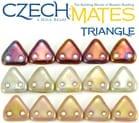 CzechMates Triangle Beads