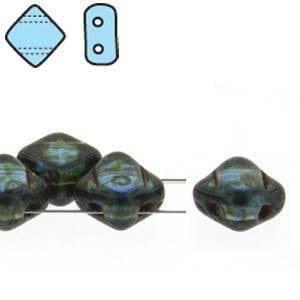 2-hole Silky Bead