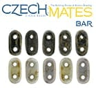 CzechMates 2-hole Bar Bead
