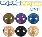 CzechMates 2-hole Lentil