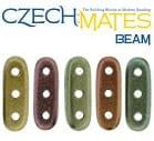 CzechMates 3-hole Beam Beads