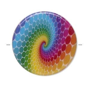 Acrylic Beads 31 mm Round