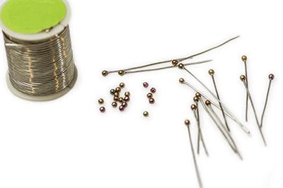 CzechMates Finial Beads-Half Drilled