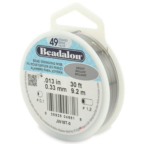 Beadalon 49 strand wire-Beadhouse.nl