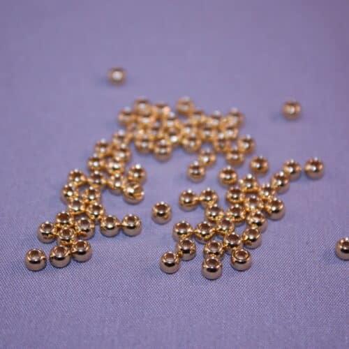 No Seam Round Metal Seed Beads-Beadhouse.nl