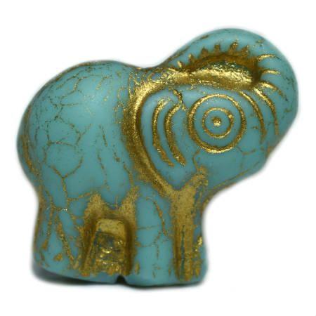 Elephant Beads 20x23mm-Beadhouse.nl