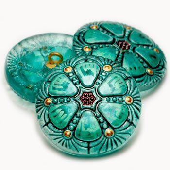 Czech Glass Buttons-Beadhouse.nl